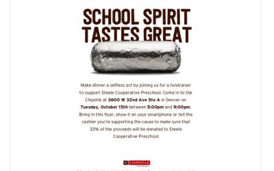 Steele Chipotle Fundraiser | October 15th