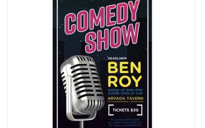 Steele Comedy Show   Ben Roy   October 12th